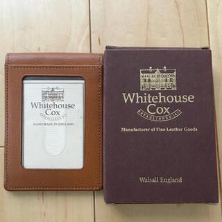 ホワイトハウスコックス(WHITEHOUSE COX)のWhitehouse Cox パスケース カードケース(名刺入れ/定期入れ)