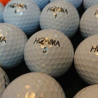 ホンマゴルフ(本間ゴルフ)のホンマ D1plus 20球 ロストボール ゴルフボール(その他)