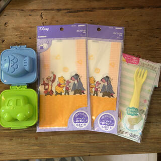 ディズニー(Disney)のおにぎり袋セット(弁当用品)