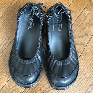 incholse ♡ インコルジェ ローファー 革製品 日本製 神戸 美品(ローファー/革靴)