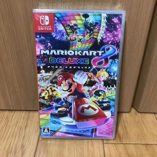 ニンテンドウ(任天堂)の【中古】マリオカート8 デラックス Switch(家庭用ゲームソフト)