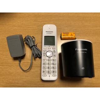 Panasonic - Panasonic コードレス電話機 VE-GDS01DL ブラック