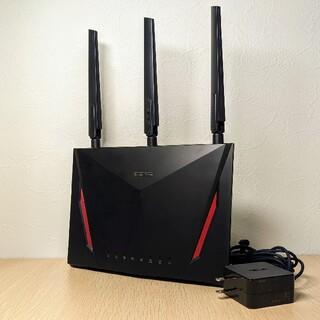 エイスース(ASUS)のASUS RT-AC86U 2167+750Mbps 1.8GHz ゲーミング(PC周辺機器)