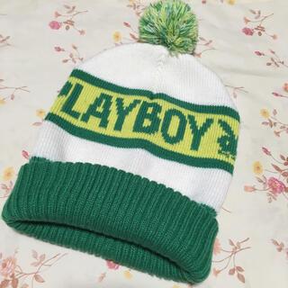 プレイボーイ(PLAYBOY)のニット帽、プレイボーイ、PLAYBOY(ニット帽/ビーニー)
