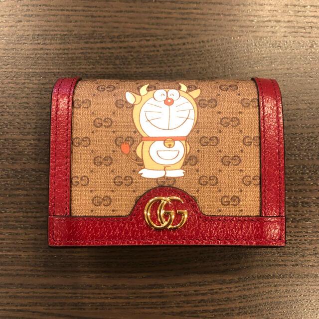 Gucci(グッチ)の限定!ショッパー付き!【新品】グッチ ドラえもん 財布 うしドラa レディースのファッション小物(財布)の商品写真
