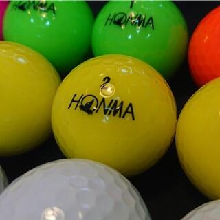 ホンマゴルフ(本間ゴルフ)の【良品】´20 ホンマ D1 23球 ロストボール ゴルフボール(その他)