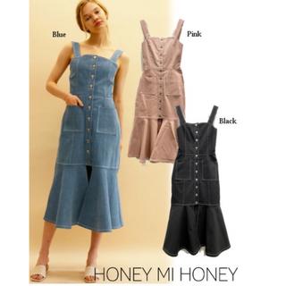 Honey mi Honey - 【新品未着用】 ハニーミーハニーデニムマーメイドワンピース