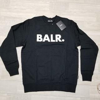 新品 BALR.ボーラー BALR. トレーナー 黒 スウェット