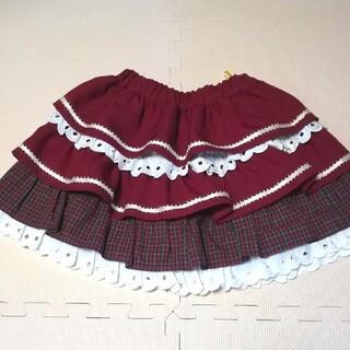 シャーリーテンプル(Shirley Temple)のflower様お取り置き♡シャーリーテンプル  フリルティアードスカート 120(スカート)