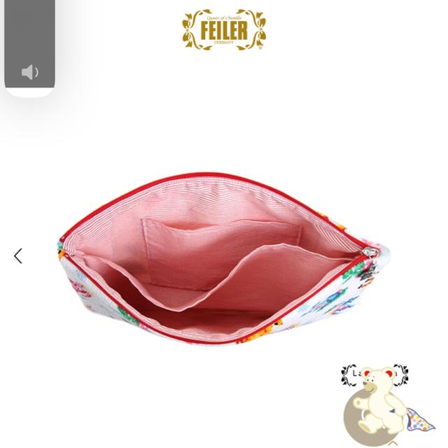 FEILER(フェイラー)のお値下げタグ付き未使用品 フェイラー ティップトップ ポーチ&ハンカチ レディースのファッション小物(ハンカチ)の商品写真