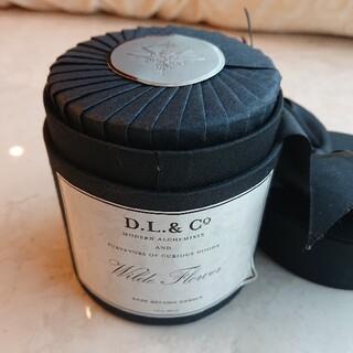 ディプティック(diptyque)のD.L. & Co Wilde Flower アロマキャンドル  DL & CO(アロマ/キャンドル)
