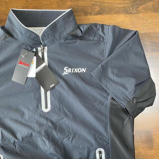 スリクソン(Srixon)の【新品、未使用】スリクソン  ウィンドブレーカー(半袖) メンズ サイズ:M(ウエア)