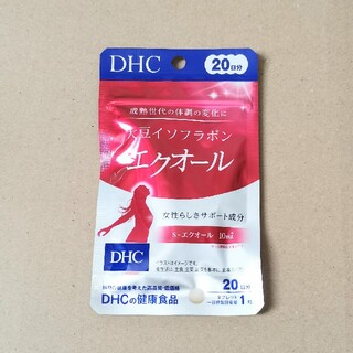 DHC 大豆イソフラボンエクオール 20日分(その他)