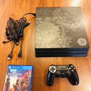 プレイステーション4(PlayStation4)のPS4 Pro  1TB キングダムハーツリミテッドエディション(家庭用ゲーム機本体)