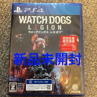 プレイステーション4(PlayStation4)のウォッチドッグス レギオン PS4 新品未開封 初回特典付き(家庭用ゲームソフト)