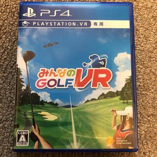 プレイステーション4(PlayStation4)のみんなのGOLF VR PS4 新品同様(家庭用ゲームソフト)