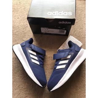 アディダス(adidas)の新品●アディダス●adidas●FALCONRUN 1 ネイビースニーカー.16(スニーカー)