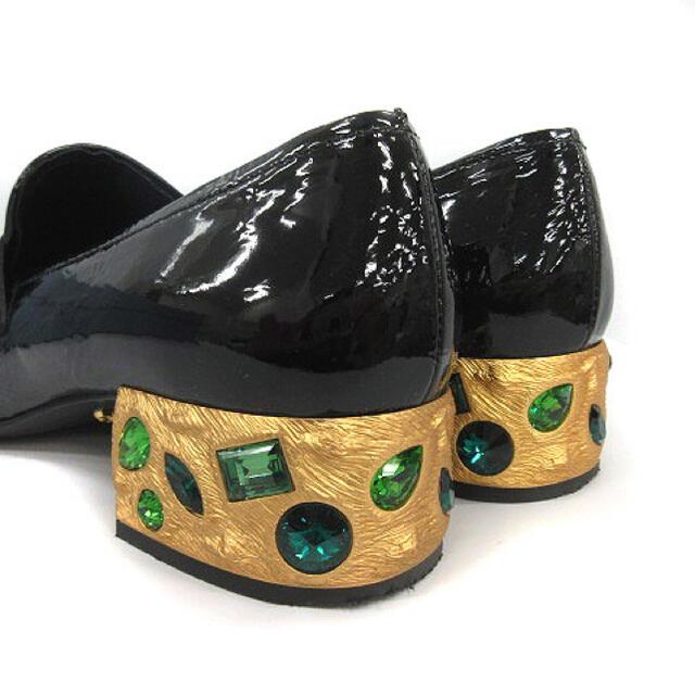 PRADA(プラダ)のPRADA ストーン付きローファー LOEWE好きの方にもおすすめ レディースの靴/シューズ(ローファー/革靴)の商品写真