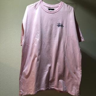 ステューシー(STUSSY)のstussy pink T-shirt(Tシャツ(半袖/袖なし))