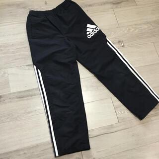 adidas - アディダス 男の子 140センチ 黒 パンツ