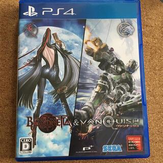 プレイステーション4(PlayStation4)のBAYONETTA&VANQUISH PS4(家庭用ゲームソフト)