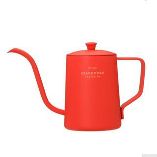 スターバックスコーヒー(Starbucks Coffee)の完売 スターバックス クリスマス ホリデー ケトルレッド スタバ コーヒー器具(食器)