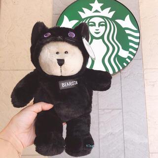 スターバックスコーヒー(Starbucks Coffee)のスターバックス ハロウィン べアリスタ ブラックキャット 黒猫 ぬいぐるみ(ぬいぐるみ)