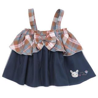 coeur a coeur - クーラクール 2WAYスカート 100 新品