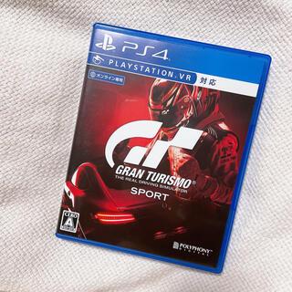 プレイステーション4(PlayStation4)のグランツーリスモ SPORT PS4 ゲームソフト(家庭用ゲームソフト)