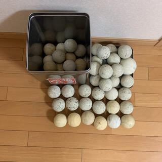 軟式 少年野球 学童野球 練習球 47球+オマケ、ソフトボール(ボール)