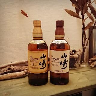 サントリー(サントリー)の山崎12年 + NV セット(ウイスキー)