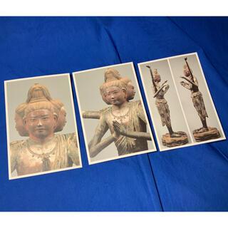 興福寺 阿修羅像 ポストカード3枚(彫刻/オブジェ)
