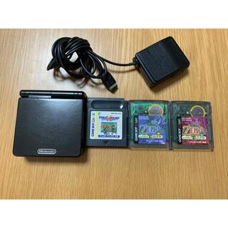 ゲームボーイアドバンス(ゲームボーイアドバンス)のゲームボーイアドバンスsp ブラック(携帯用ゲーム機本体)