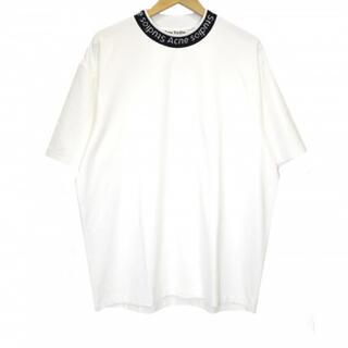 アクネ(ACNE)のACNE STUDIOS (アクネステュディオズ) 半袖ロゴネックカットソー(Tシャツ/カットソー(半袖/袖なし))