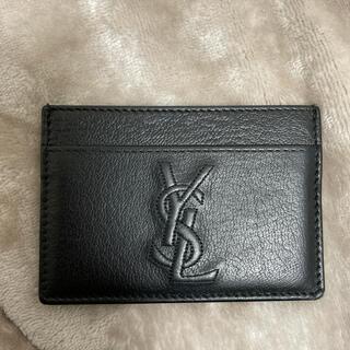 Saint Laurent - 正規品 YSL パスケース カードケース