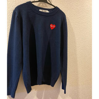 COMME des GARCONS - PLAY未使用に近い美品セーター