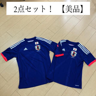 アディダス(adidas)の2点セット! 美品 サッカー 日本代表 ユニフォーム ジャージ ウェア(ウェア)