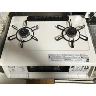 パロマ ガスコンロ 都市ガス右強 2020年7月購入(調理機器)