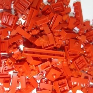 カワダ(Kawada)のナノブロック 赤 バラ売りもできます(積み木/ブロック)