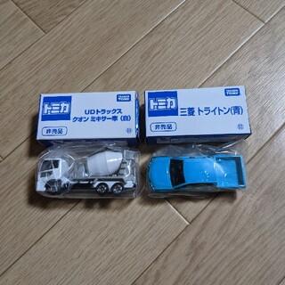 タカラトミー(Takara Tomy)のトミカ博限定 クオンミキサー車 三菱トライトン(ミニカー)