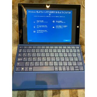 マイクロソフト(Microsoft)の【ジャンク品】Microsoft surface3 メモリ4GBタイプ128GB(タブレット)