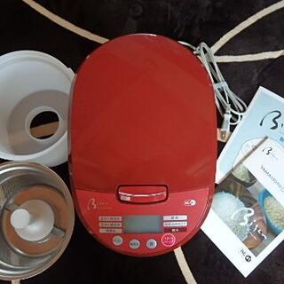 山本電気 YAMAMOTO 家庭用精米機 レッド YE-RC41R(精米機)