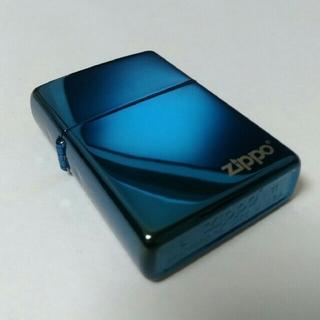 ジッポー(ZIPPO)のZIPPO '11 BLUE TITANIUM / CORNER LOGOS(タバコグッズ)