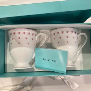 Tiffany & Co. - ティファニー ピンクハート マグ