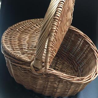 アクタス(ACTUS)のカゴ 手編みカゴ ハンドメイド バスケット 小物入れ ACTUS アクタス 雑貨(小物入れ)