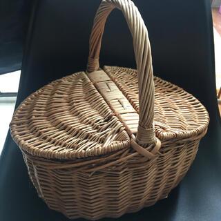 アクタス(ACTUS)のカゴ 手編みカゴ ハンドメイド バスケット 小物入れ ACTUS アクタス 雑貨(かごバッグ/ストローバッグ)