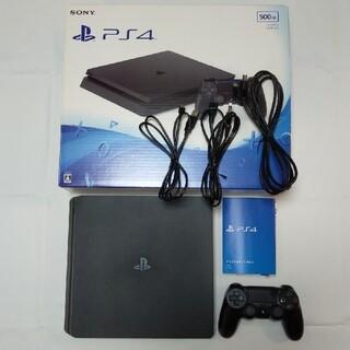 プレイステーション4(PlayStation4)の【美品】PlayStation® 500GB CUH-2100AB01(家庭用ゲーム機本体)
