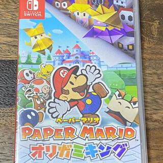 ニンテンドースイッチ(Nintendo Switch)のペーパーマリオ オリガミキング(家庭用ゲームソフト)
