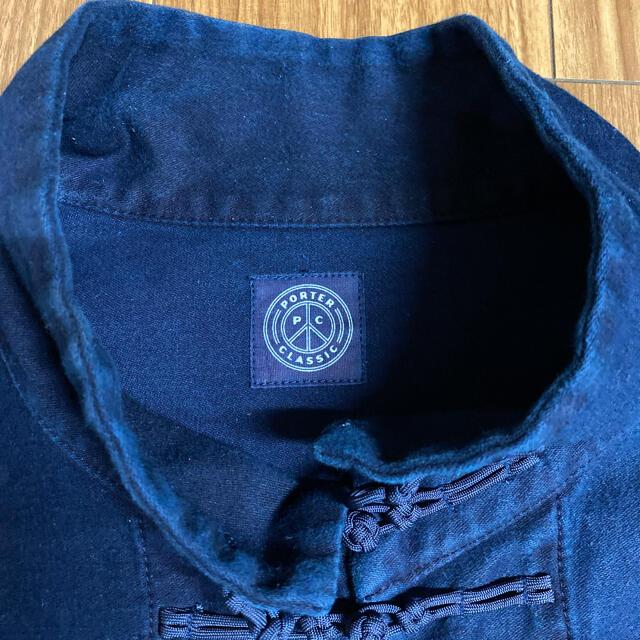 PORTER(ポーター)のポータークラシック モールスキン チャイナジャケット Porterclassic メンズのジャケット/アウター(その他)の商品写真