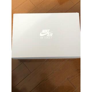 ナイキ(NIKE)の NIKE エアフォース1 '07 メンズ ホワイト (スニーカー)